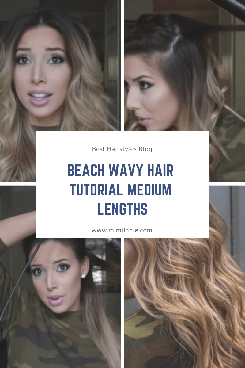 Beach Wavy Hair Overnight