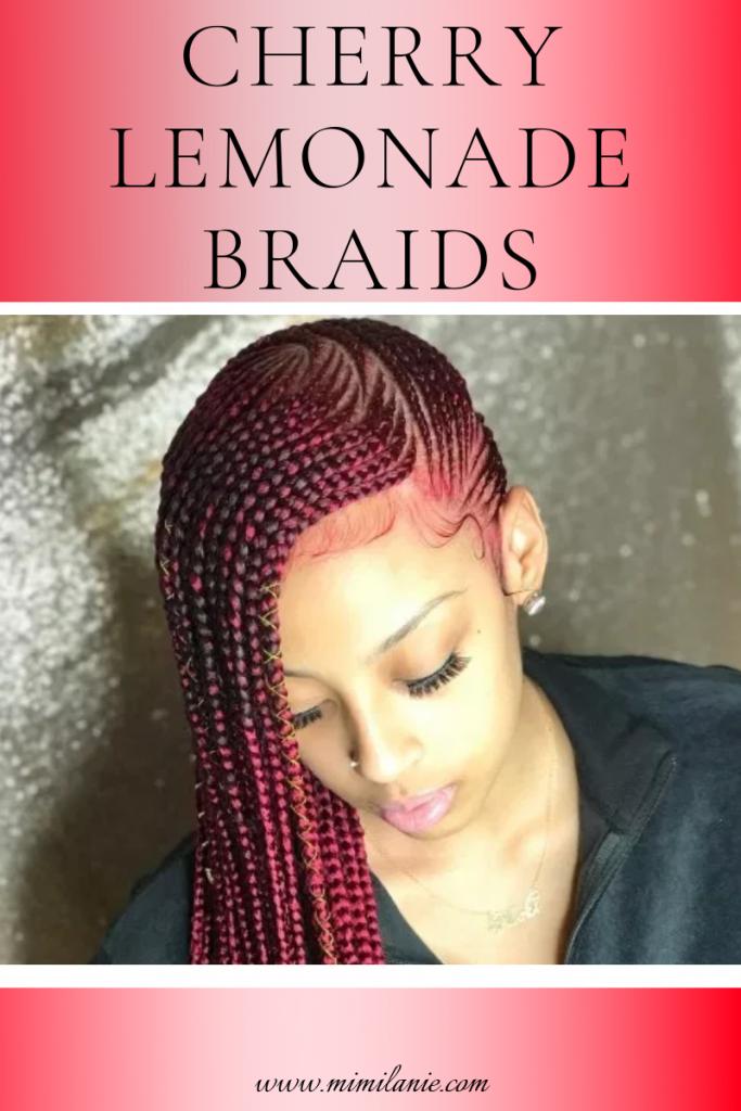 cherry lemonade braids hair styles